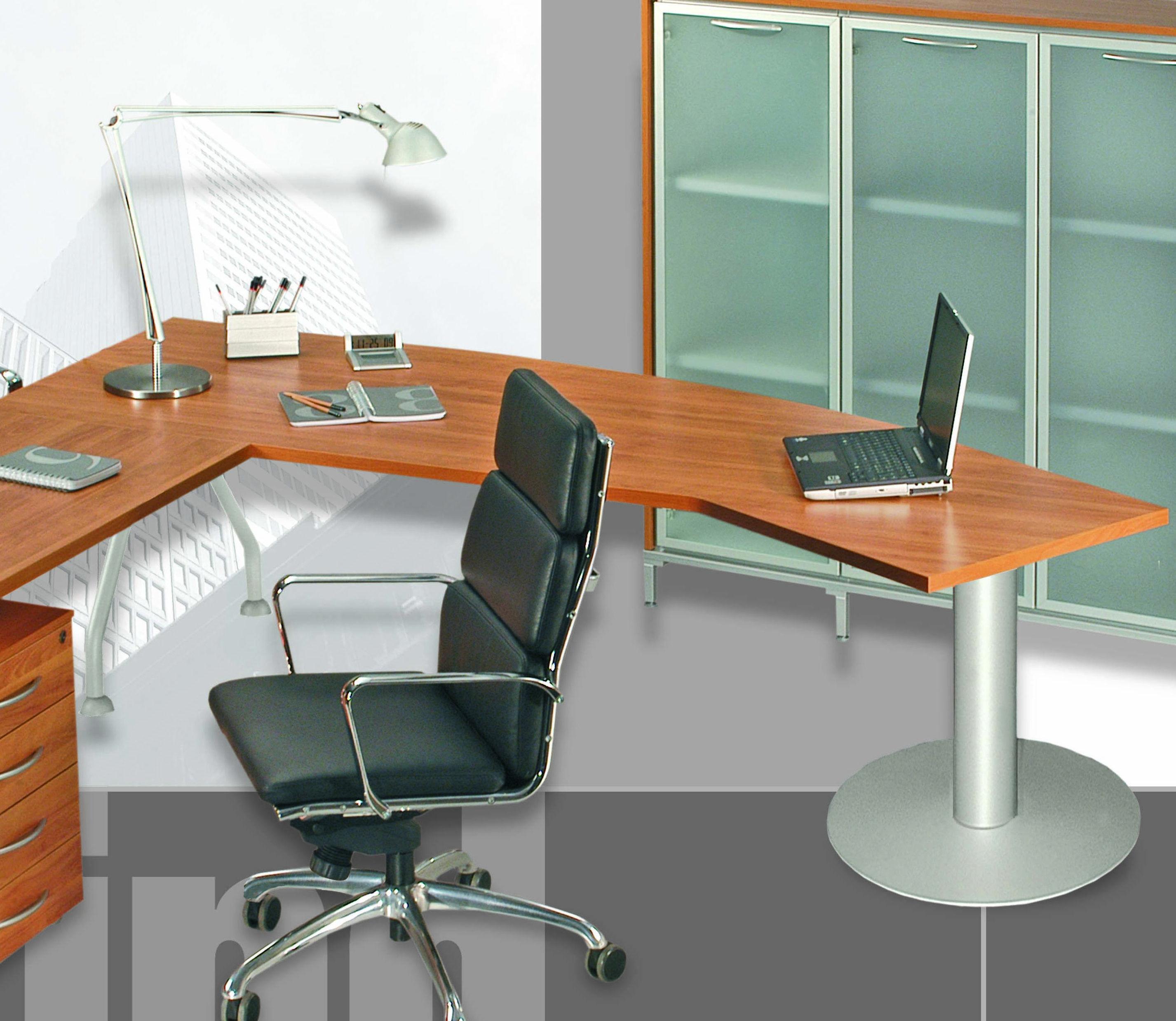 Scrivania direzionale sagomata 230x80x72h contact for Scrivania direzionale prezzo