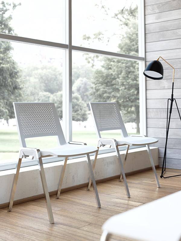 Babel sedia operativa bianca contact ufficio roma for Sedie ufficio roma