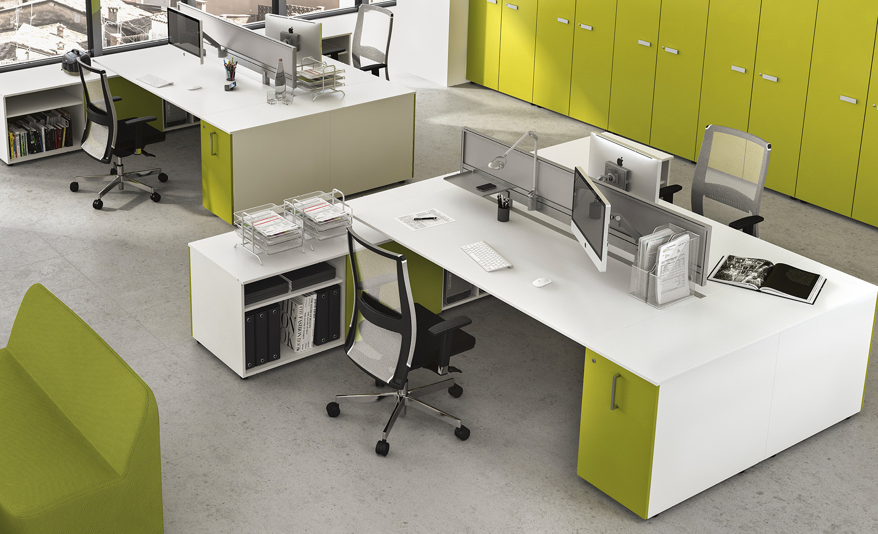 Come Arredare Un Ufficio Open Space : Come arredare un ufficio design e funzionalità contact