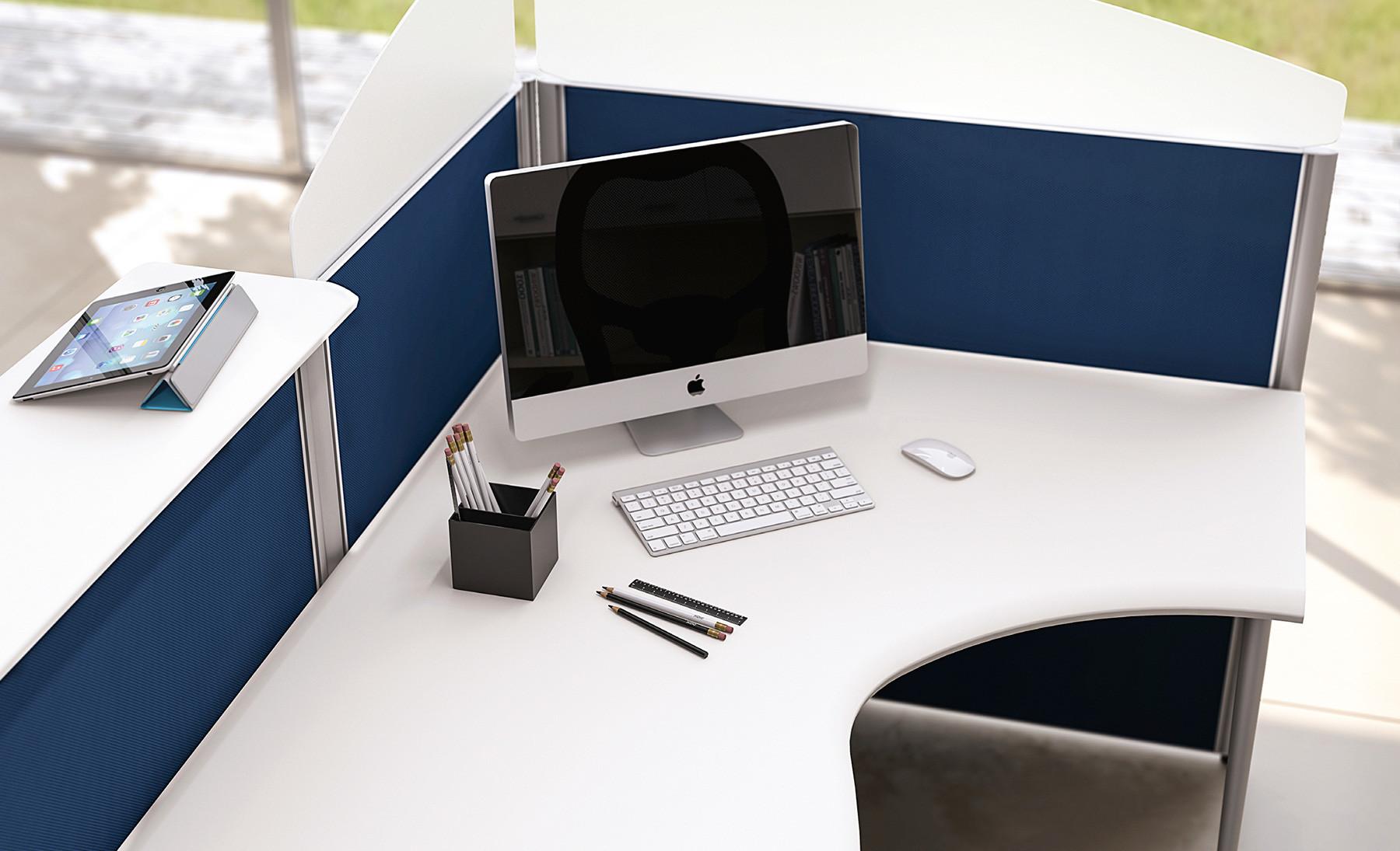 Ergonomia Scrivania Ufficio : Caratteristiche di una scrivania per ufficio