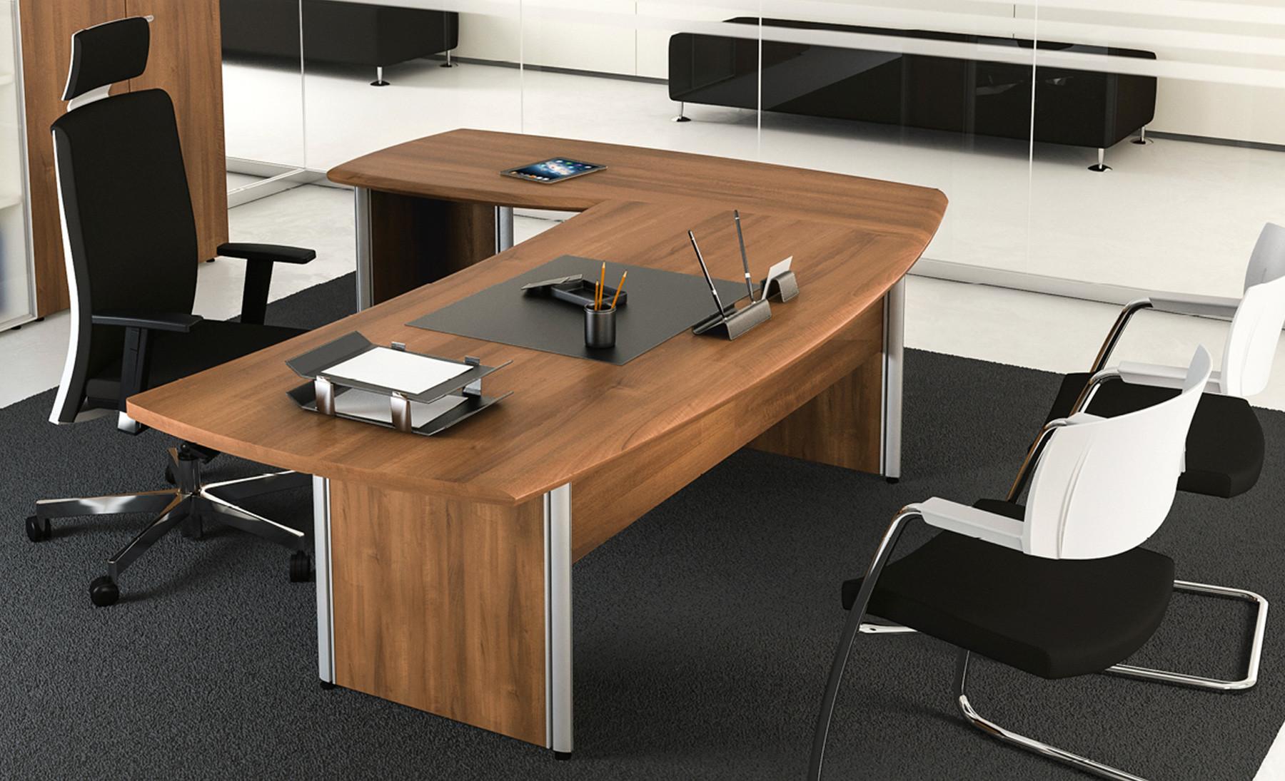 Scrivania Ufficio Organizzata : Format scrivania operativa sagomata contact ufficio roma