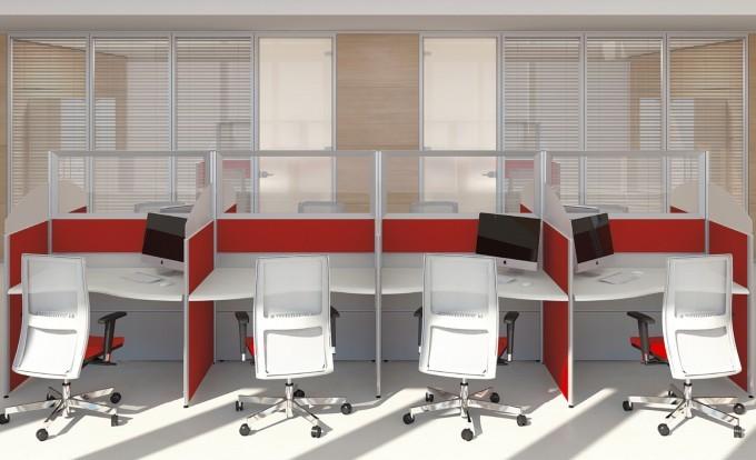 scrivania operativa format dalle line stondate