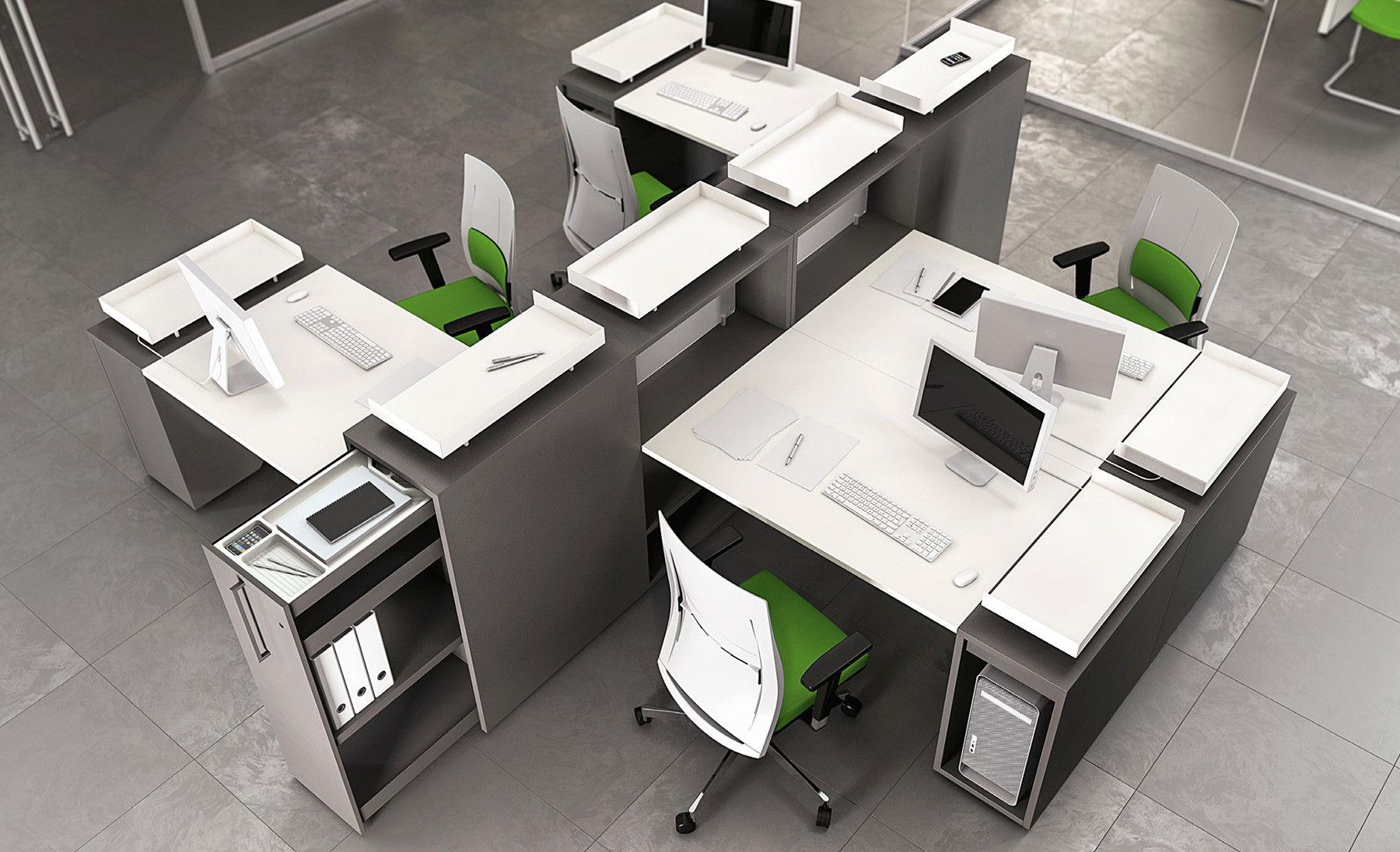 Disposizione Scrivania Ufficio : Come scegliere una scrivania operativa da ufficio contact roma