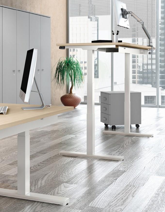 Up scrivania con altezza variabile