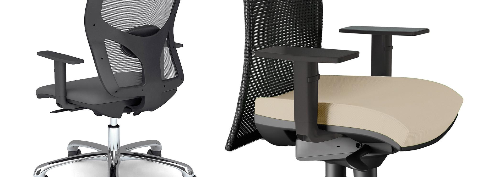 Sedie ergonomiche ufficio contact roma for Sedie ufficio ergonomiche