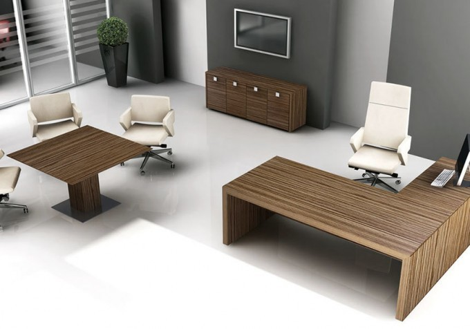 ufficio direzionale completo legno 01