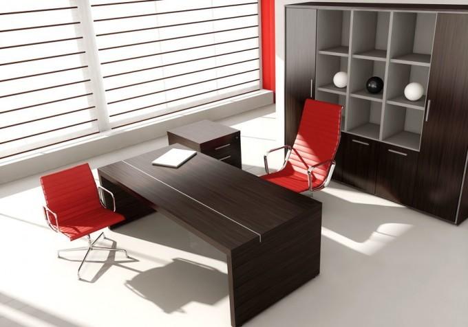 scrivania direzionale cohiba con libreria