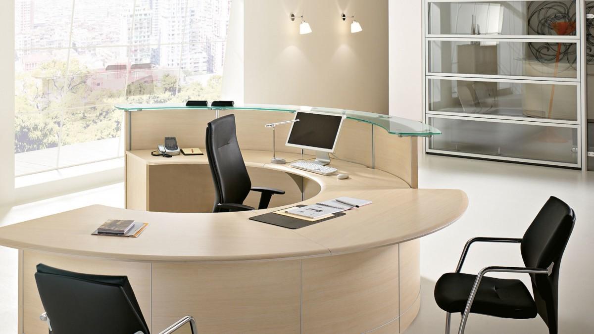 Banconi reception contact for Reception scrivania