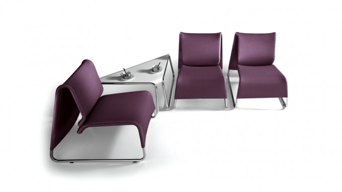 Sedute attesa E-Lounge