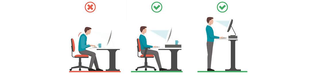 Sedie Da Ufficio Per Postura Corretta.Postura Corretta Al Computer Contact