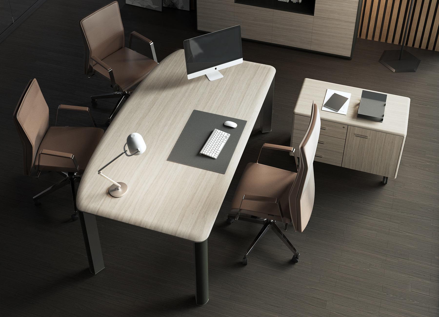 La scrivania direzionale per ufficio che cercavi è quì! contact® roma