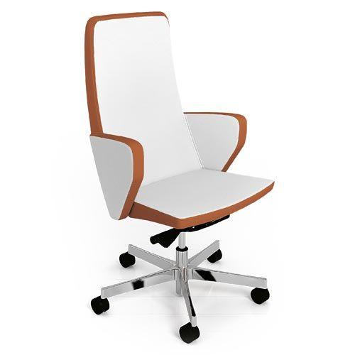 Sedia direzionale design bianca contact for Sedia design bianca
