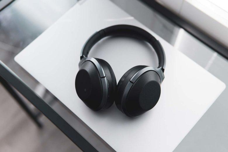 cuffie nere musica