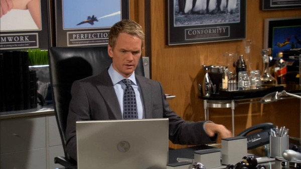 ufficio Barney Stinson