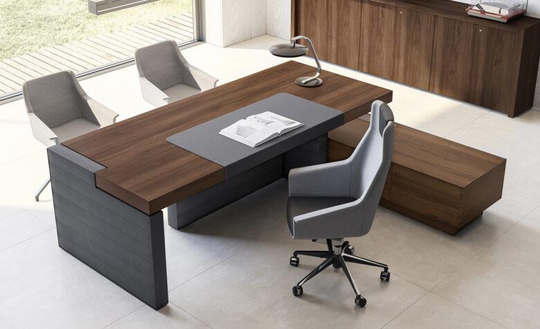 scrivania e poltrone per studio medico jera